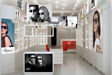 Thiết kế thi công kệ trưng bày shop mắt kính ở Đà Nẵng AR GROUP JSC