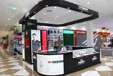Kệ trưng bày cửa hàng đồng hồ