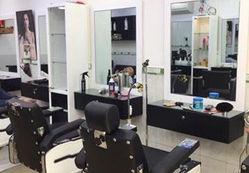Thiết kế thi công salon tóc ở Quận 3