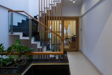 Mẫu nhà ống đẹp 4 tầng hiện đại cho chị Quyên Tp HCM