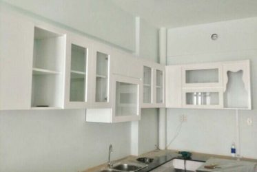 Thiết kế thi công tủ bếp cho chung cư Hưng Ngân