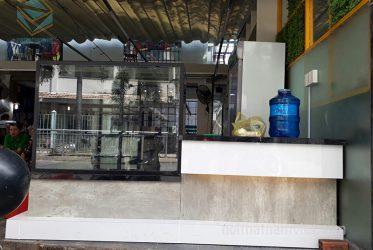 Thiết kế thi công nội thất quán trà sữa anh Chông ở Gò Vấp