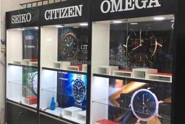 Kệ trưng bày đồng hồ giá rẻ
