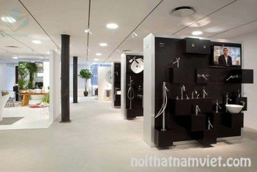 Thiết kế kệ trưng bày cửa hàng thiết bị vệ sinh