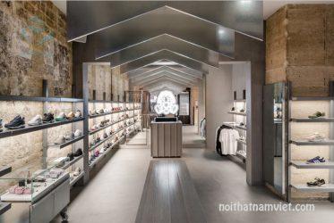 Thiết kế cửa hàng showroom giầy thể thao tại TP HCM